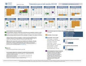 Denver Public Schools 2020 Calendar 2019/2020 DPS Calendar   STEDMAN ELEMENTARY